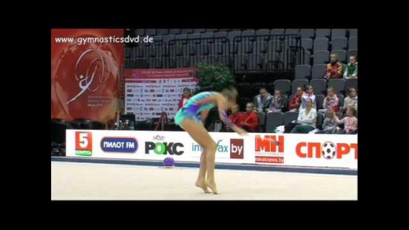 АРИНА СУЩИНСКАЯ Clubs - Junior Crystal Rose Cup Minsk 2016