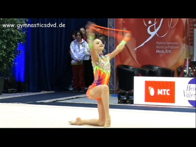 АРИНА СУЩИНСКАЯ Rope - Junior Crystal Rose Cup Minsk 2016