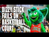 DIZZY STICK FAILS COMPILATION ON BASKETBALL COURT