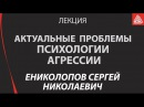Актуальные проблемы психологии агрессии. Лекция. Ениколопов Сергей Николаевич
