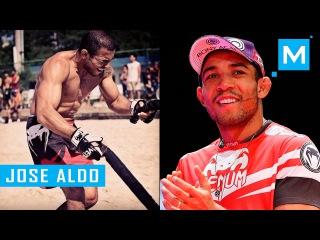 Jose Aldo Conditioning Training & Pad Works | Muscle Madness jose aldo conditioning training & pad works | muscle madness