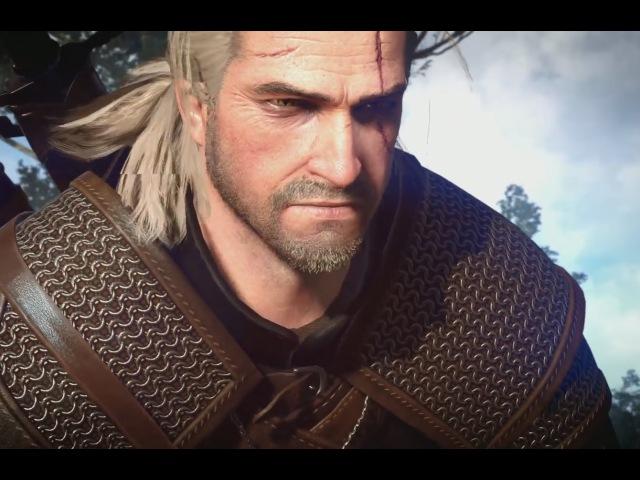 The Witcher 3: Wild Hunt — Геймплей битва с Грифоном (HD) E3 2014