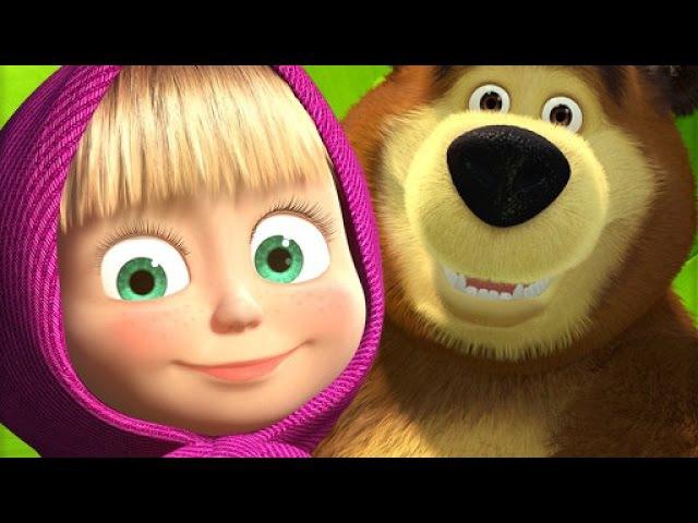 Маша и медведь Английский по Фильмам Английский для начинающих