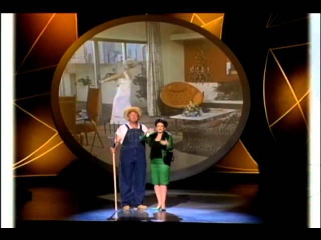 Donald Trump Megan Mullally - Green Acres at the Emmys