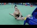 Как сделать причёскугульку для соревнований по художественной гимнастике