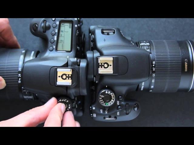 Canon 60D vs Canon T3i 600D Dave Dugdale]