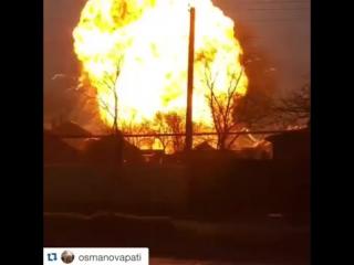 Взрыв заправки г.Кизляр (18.03.2016)