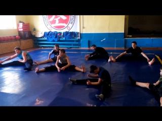 Тренировки по борьбе и смешанным единоборствам воспитанников ДНД-Моспино.