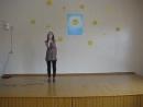 Выступление ученицы 8 Б класса