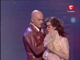 Танцуют Татьяна Денисова и Влад Яма - Концерт ко Дню Победы.2010г.