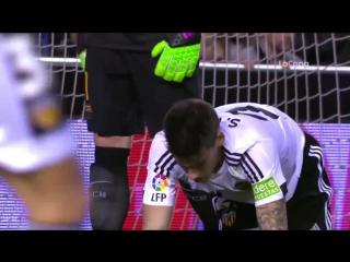 Обзор матча Валенсия 1-1 Барселона (ответный матч Кубка Испании, 1\2 финала, 10.02.2016)