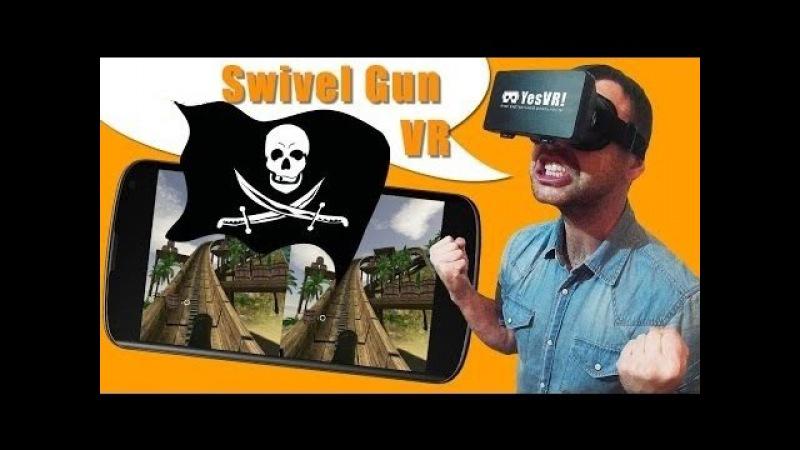 Американские горки с пушкой Android, iPhone, Oculus Rift! Обзор VR игры виртуальной реальности