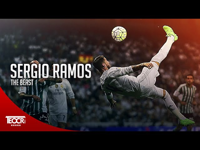 Sergio Ramos Beast ● Crazy Defensive Skills 2016  HD 