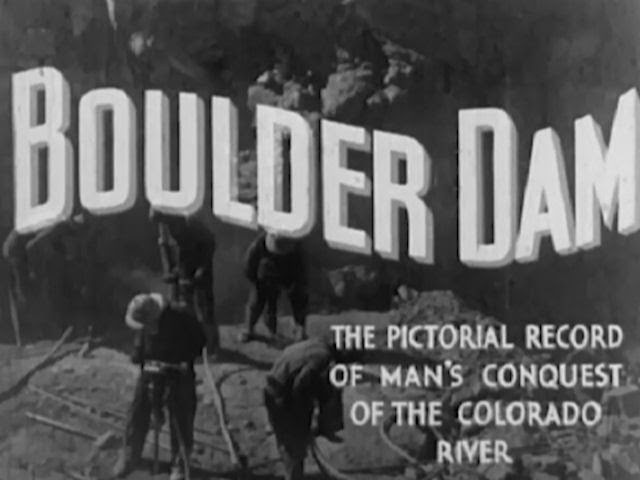 The building of the Boulder dam (Hoover dam) - 1930's documentary - WDTVLIVE42