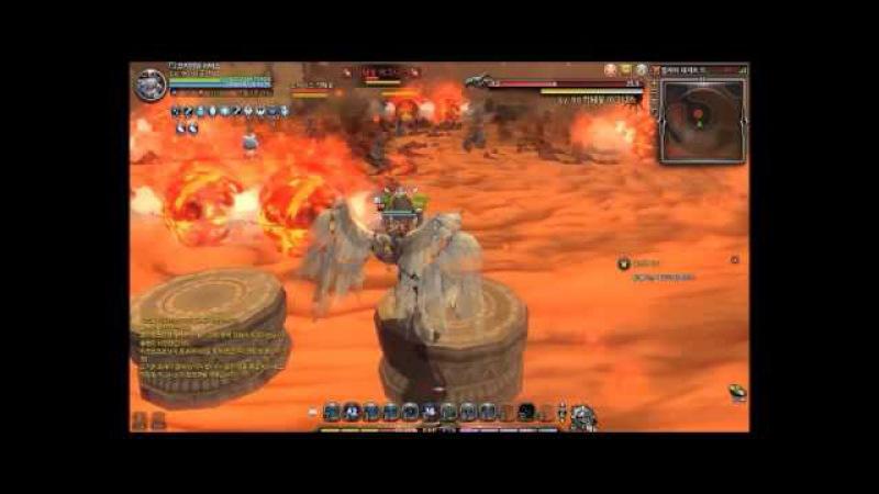 [KDN] DragonNest R DesertDragon Nest Lv90 Solo [Inquisitor]