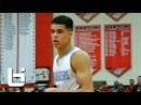 6'9 17 year old Michael Porter Jr.'s Length and Athleticism Too Hard To Guard!
