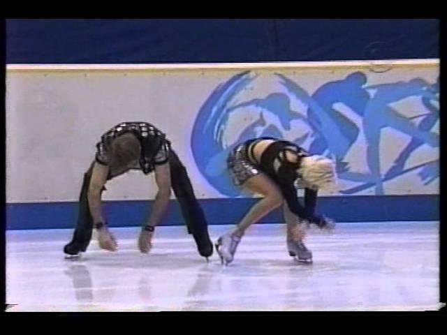 Pasha Grishuk Evgeny Platov RUS 1998 Nagano Ice Dancing Original Dance