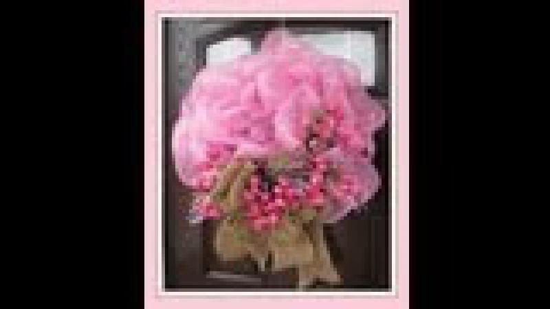 Spring Deco / GeoMesh Wreath