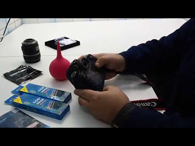 Чистка фотоаппарата своими руками: объектив, матрица