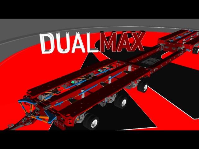 FAYMONVILLE DualMAX - the modular platform trailer with widenable axles