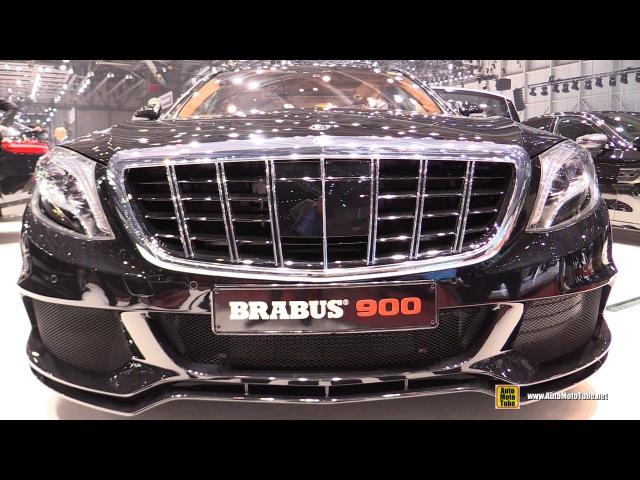 2016 Mercedes Maybach S600 Brabus Rocket 900 - Exterior Interior Walkaround - 2016 Geneva Motor Show