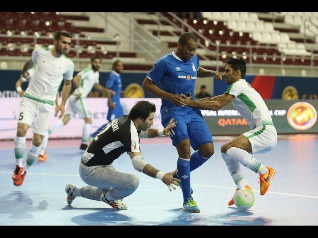 TASISAT DARYAEI vs DYNAMO. Intercontinental Futsal Cup. Qatar-2016. 26.06.16