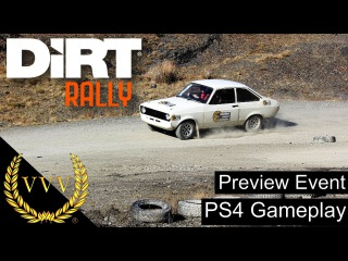 Dirt Rally Console Preview Part 1