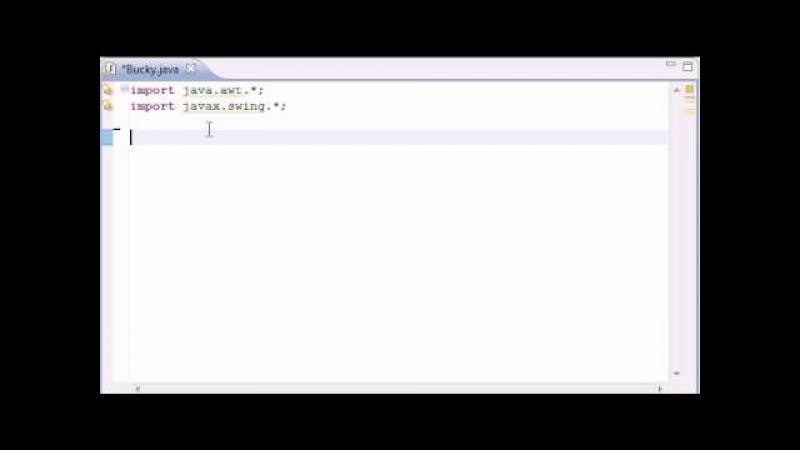 Intermediate Java Tutorial - 20 - Introduction to Applets