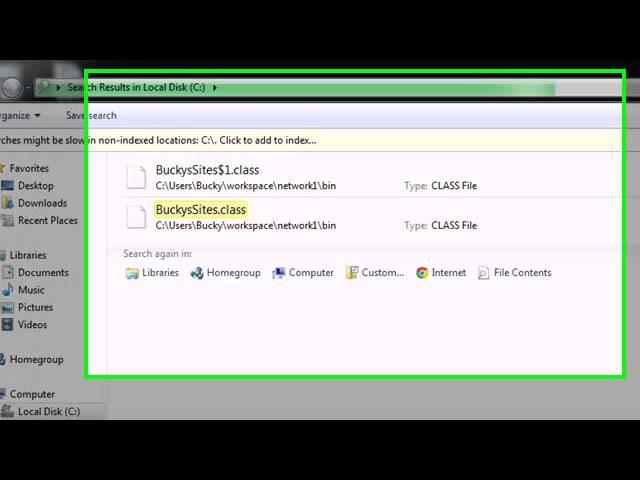Intermediate Java Tutorial - 33 - Uploading and Testing the Applet