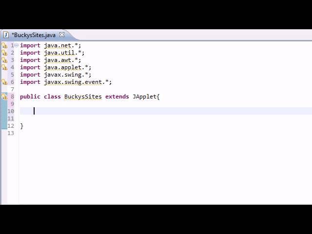 Intermediate Java Tutorial - 29 - Making a Simple Networking Applet