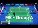 2015 Superseries Finals Jan O JORGENSEN vs HU Yun