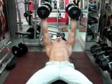 Разводки с гантелями лежа для груди. Как правильно тренировать грудные мышцы.