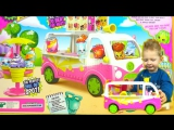 Shopkins Ice Cream Truck Season 3  Шопкинс Автобус  магазин мороженного