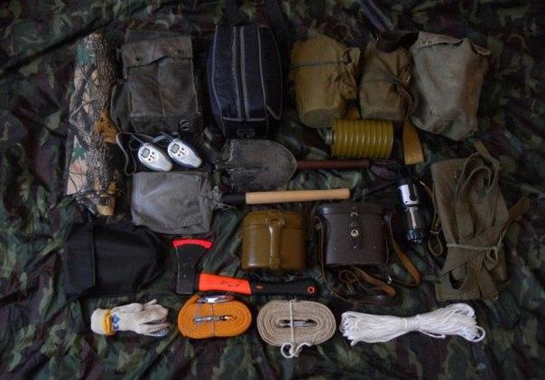 Снаряжение для выживания на войне