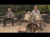 Пенсионеры сыграли Deep Purple в центре Донецка