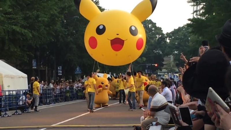 踊る? ピカチュウ大発生チュウ!part.5 Pokémon Pikachu Dance Parade (Yokohama, Japan) 2015,8,1
