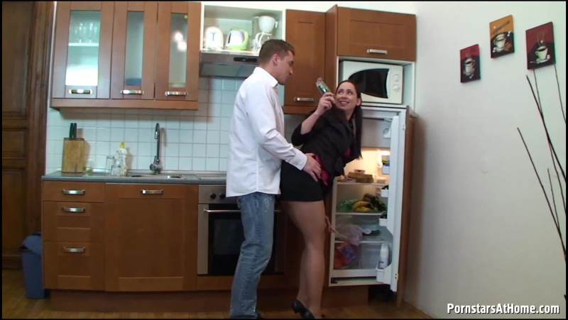 Pepper (aka Peper) Piss Fucking All Over The Kitchen MILF, Incest, Mom Son,