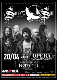 SWALLOW THE SUN (Fin)** 20.04.16 ** СПб