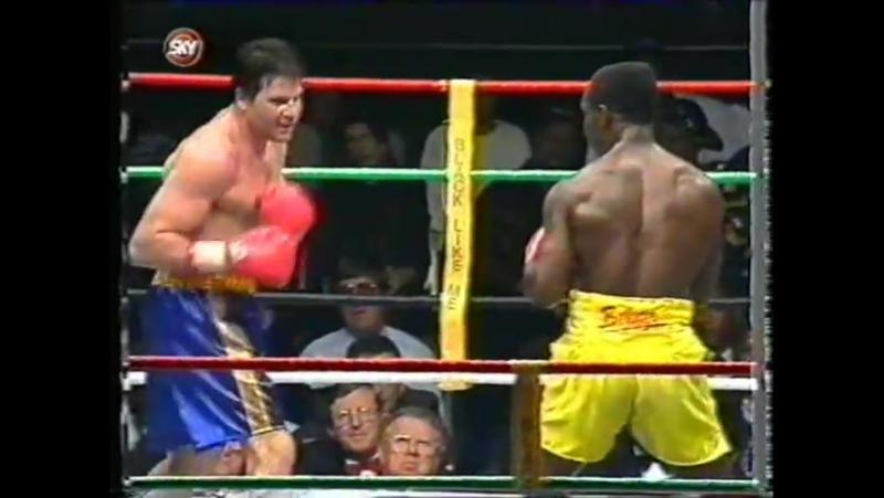 1994-10-15 Chris Eubank vs Dan Schommer (WBO Super Middleweight Title)