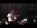 Niccolo Paganini - Violin Concerto No.1  by 15 years old Ukrainian violinist Kostiantyn Lukyniuk