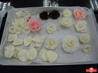 Tổng hợp 10 kỹ thuật cạo socola các loại hoa (hồng, cúc, cẩm chướng), điều thuốc, cánh quạt