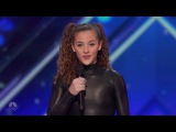 Sofie Dossi - Teen Balancer and Contortionist | Week 5 | Americas Got Talent 2016 Full Auditions