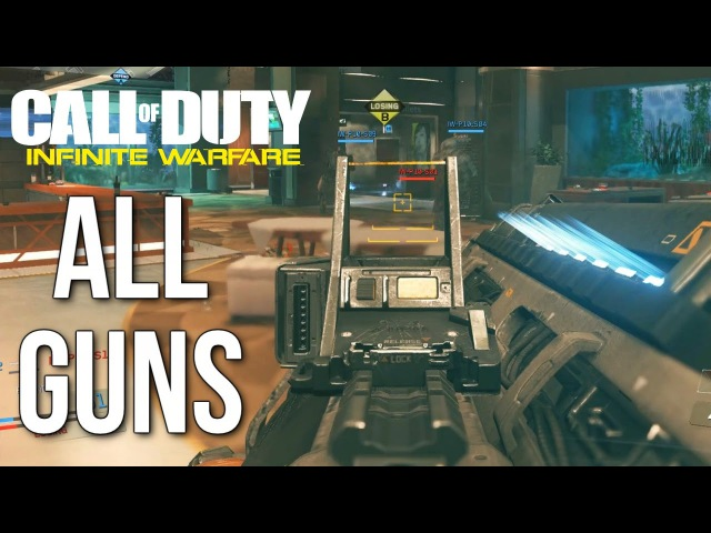 Call of Duty: Infinite Warfare Multiplayer Gameplay (ALL GUNS, WEAPONS, RIGS)