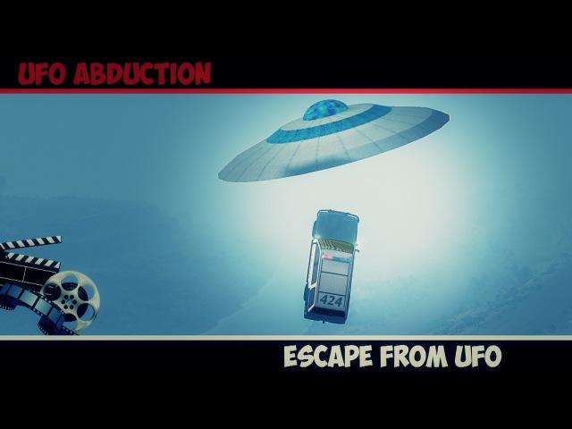 BeamNg Drive | Ufo Abduction - Mystical Story 1 (Beam ng Short Story)