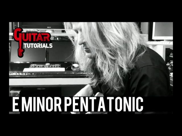 Doug Aldrich Guitar Lesson - 5 E minor Pentatonic Licks