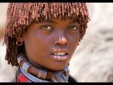 Дикая Африка.Жизнь племени Хамар.Документальный фильм