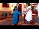 106 Year old Woman Virginia McLaurin Wish Granted Dances With Barack Obama And Michelle