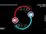 Panda Eyes &amp Teminite - Highscore Game Over Mirror Circle Collage
