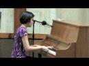 Stephanie Trick plays Echo Of Spring stride piano