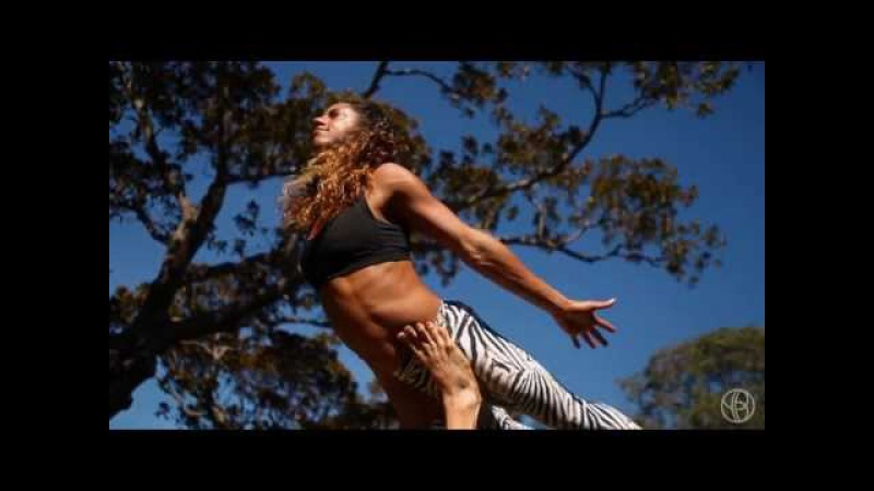 AcroYoga 'Cello Flow' with Honza Claudine Lafond, YogaBeyond